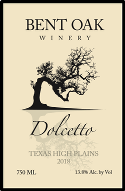 2018 Dolcetto Texas High Plains