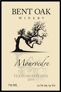 2018 Mourvedre Texas High Plains