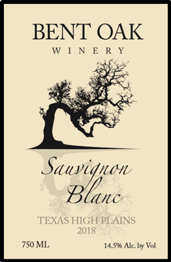 2018 Sauvignon Blanc Texas High Plains