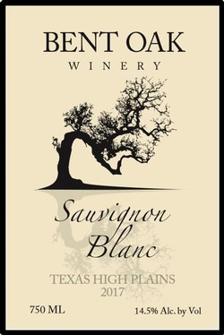 2017 Sauvignon Blanc Texas High Plains
