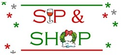 Sip & Shop Booth