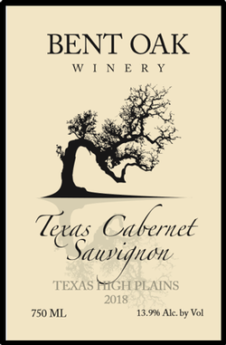 2018 Cabernet Sauvignon Texas High Plains