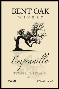 2018 Tempranillo Texas High Plains