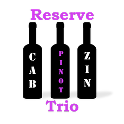 Reserve Trio w/18 Pinot