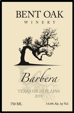 2018 Barbera Texas High Plains