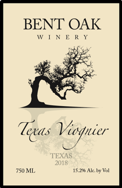2018 Viognier Texas High Plains