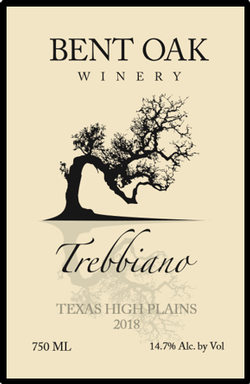 2018 Trebbiano Texas High Plains