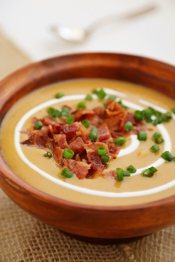 Sister Winemaker's Loaded Sweet Potato & Sausage Soup